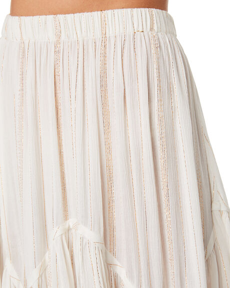 WHITE WOMENS CLOTHING TIGERLILY SKIRTS - T392286WHT