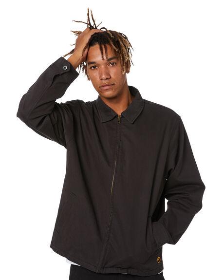 BLACK MENS CLOTHING NO NEWS JACKETS - N5214382BLK