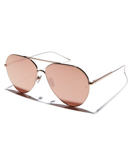 ROSE WOMENS ACCESSORIES SUNDAY SOMEWHERE SUNGLASSES - SUN169-ROS-SUNROSE