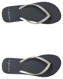 SILVER WOMENS FOOTWEAR RIP CURL THONGS - TGTE670017