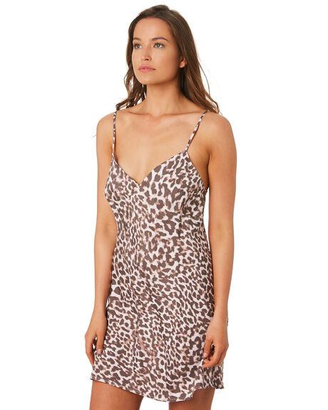 LEOPARD WOMENS CLOTHING TIGERLILY DRESSES - T392493LEO