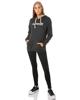 BLACK HEATHER WOMENS CLOTHING HURLEY JUMPERS - CI9431033