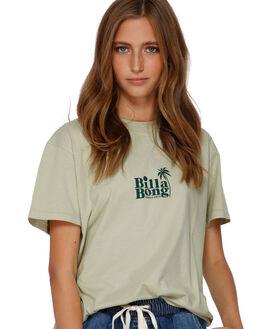 WASABI WOMENS CLOTHING BILLABONG TEES - BB-6591003-WAS