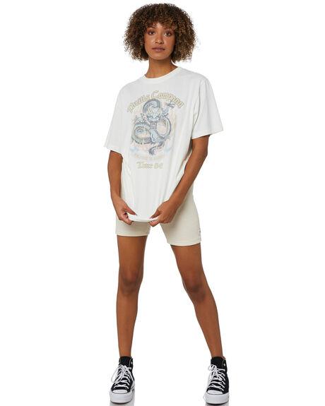 UNBLEACHED WOMENS CLOTHING THRILLS SHORTS - WTW21-303UAUNBL