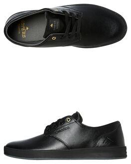 BLACK MENS FOOTWEAR EMERICA SNEAKERS - 6102000089540