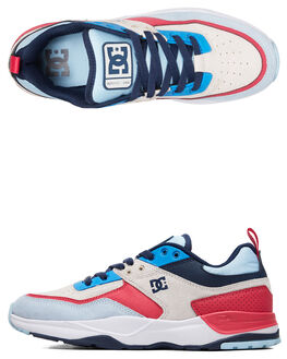BLUE/WHITE/BLUE MENS FOOTWEAR DC SHOES SNEAKERS - ADYS700142-XBWB