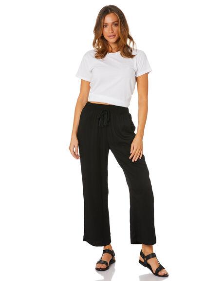 BLACK WOMENS CLOTHING BETTY BASICS PANTS - BB848SP20BLK
