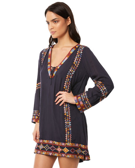 INDIGO WOMENS CLOTHING TIGERLILY DRESSES - T381432IND