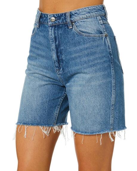 OMEN BLUE WOMENS CLOTHING WRANGLER SHORTS - W-951818-OR4