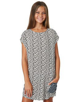 WHITE BLACK KIDS GIRLS EVES SISTER DRESSES + PLAYSUITS - 9520015WHTBK