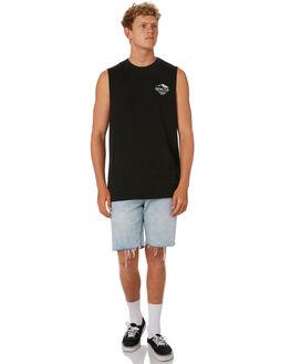 BLACK MENS CLOTHING DEPACTUS SINGLETS - D5202276BLACK