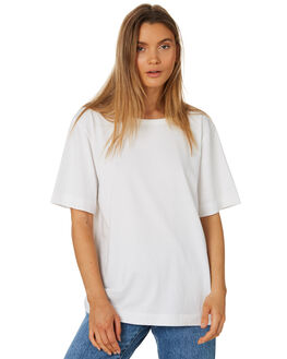 WHITE WOMENS CLOTHING ZULU AND ZEPHYR TEES - ZZ2412WHT
