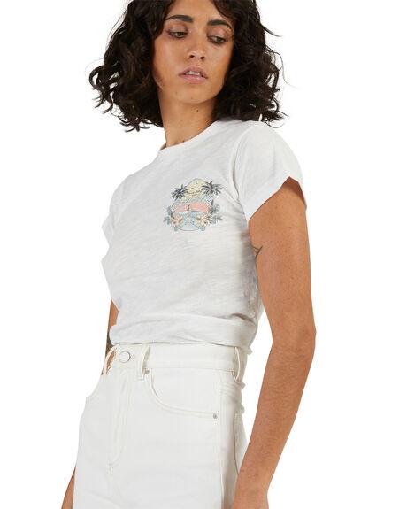 SALT CRYSTAL WOMENS CLOTHING BILLABONG TEES - 6513934-SCY