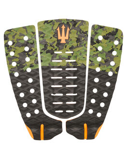 CAMO BLACK ORANGE SURF HARDWARE FAR KING TAILPADS - 1219CAMBK