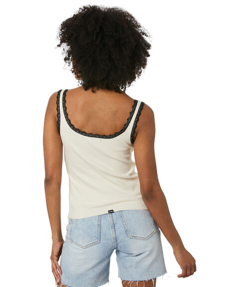 HERITAGE WHITE WOMENS CLOTHING THRILLS SINGLETS - WTR20-152AHWHT