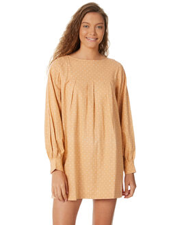 PEACH POLKA WOMENS CLOTHING SAINT HELENA DRESSES - SH18AW509-PEA