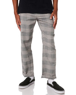 GREY CHECK OUTLET MENS BARNEY COOLS PANTS - 754-CR3IGRYCH