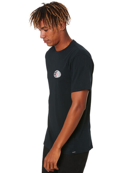 BLACK MENS CLOTHING VOLCOM TEES - A5032000BLK