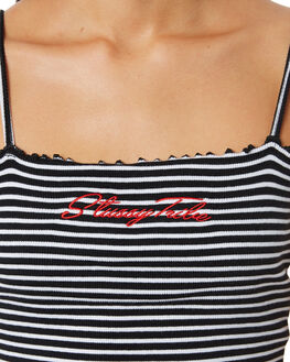 STRIPED WOMENS CLOTHING STUSSY SINGLETS - ST182203STR
