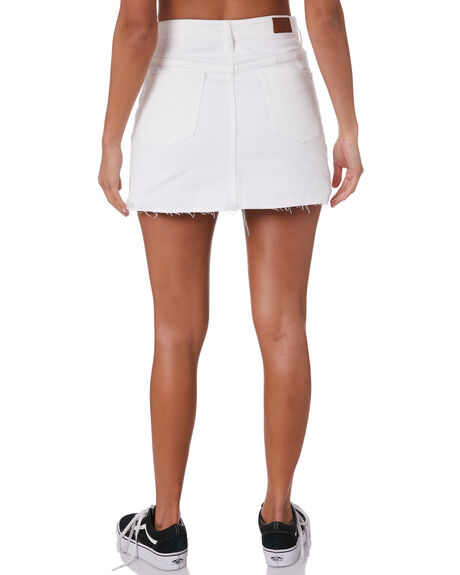WHITE WOMENS CLOTHING SILENT THEORY SKIRTS - 6093139WHT