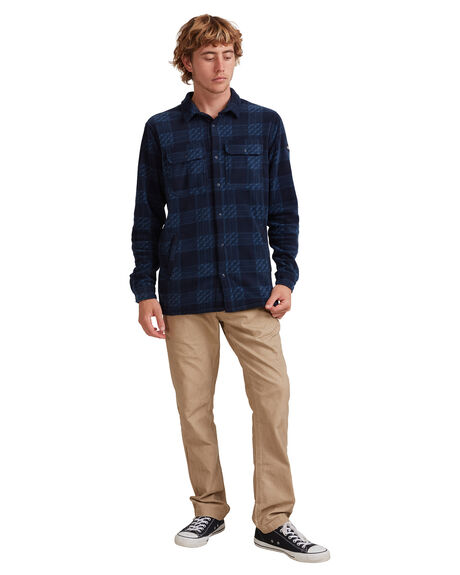 WINTER DAYS SARAGOSS MENS CLOTHING QUIKSILVER SHIRTS - UQYWT03041-BSG1