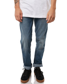 MID BLUE MENS CLOTHING GLOBE JEANS - GB01736006MBLU