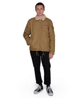 CANYON KHAKI MENS CLOTHING ELEMENT JACKETS - EL-107457-CKH