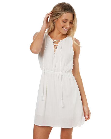 WHITE WOMENS CLOTHING ELWOOD DRESSES - W74706WHT