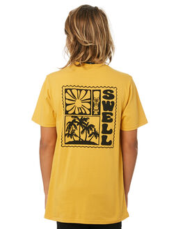 GOLD KIDS BOYS SWELL TOPS - S3193012GOLD