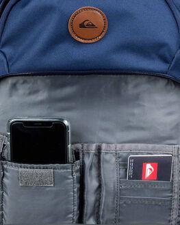 MEDIEVAL BLUE HEATHR MENS ACCESSORIES QUIKSILVER BAGS + BACKPACKS - EQYBP03500BTEH
