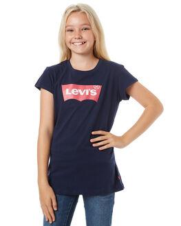 PEACOAT KIDS GIRLS LEVI'S TEES - 37391-0070PEAC