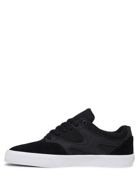 BLACK BLACK WHITE MENS FOOTWEAR DC SHOES SNEAKERS - ADYS300576-XKKW