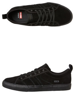 BLACK BLACK MENS FOOTWEAR GLOBE SKATE SHOES - GBFILMORE-10006
