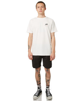 NOT WHITE MENS CLOTHING NO NEWS TEES - N5174005NWHT