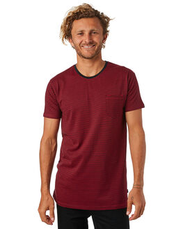 RED MENS CLOTHING SILENT THEORY TEES - 40X0009RED