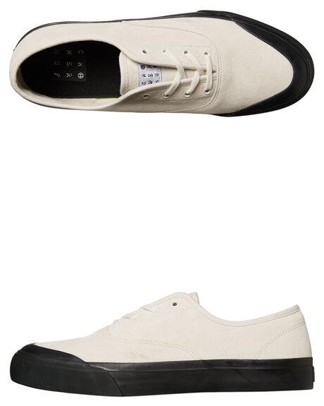 WHITE BLACK MENS FOOTWEAR HUF SNEAKERS - VC00008WHBK
