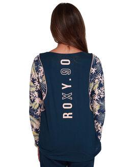 DRESS BLUES FLORAL KIDS GIRLS ROXY TOPS - ERGZT03410-BTK8
