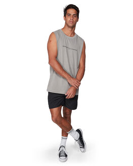OVERCAST MENS CLOTHING RVCA SINGLETS - RV-R107003-OVC