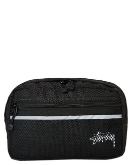 BLACK MENS ACCESSORIES STUSSY BAGS + BACKPACKS - ST793014BLK
