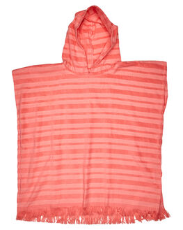 ROSE PINK KIDS TODDLER GIRLS SEAFOLLY TOWELS - 75697RSPNK