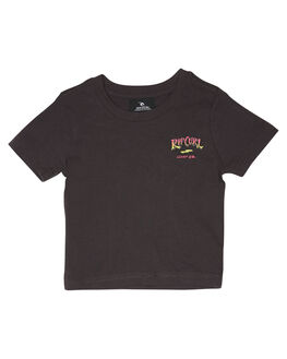 DARK GREY KIDS BOYS RIP CURL TOPS - OTEWX31221