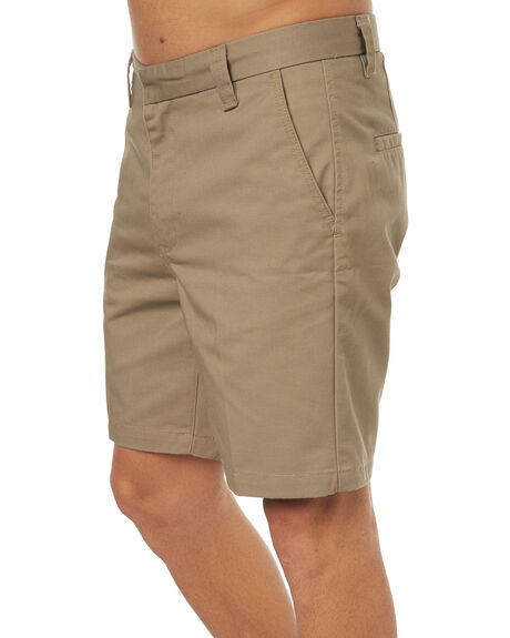 KHAKI MENS CLOTHING GLOBE SHORTS - GB01726001KHA