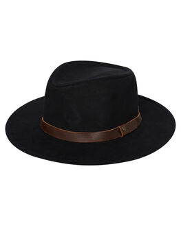 BLACK BROWN MENS ACCESSORIES BRIXTON HEADWEAR - 10307BKBRN