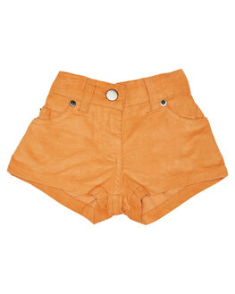 ORANGE KIDS GIRLS CHILDREN OF THE TRIBE SHORTS + SKIRTS - GRSH0345ORG