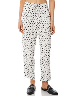 APACHE WHITE WOMENS CLOTHING RUE STIIC PANTS - SA18-2-PW-FWHT