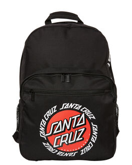 BLACK MENS ACCESSORIES SANTA CRUZ BAGS + BACKPACKS - SC-MAA8844BLK