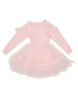 PINK KIDS GIRLS ROCK YOUR KID DRESSES + PLAYSUITS - TGD20248-CUPINK