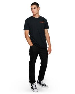 FLINT BLACK MENS CLOTHING ELEMENT TEES - EL-193014-IFL