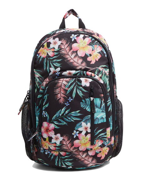 BLACK WOMENS ACCESSORIES BILLABONG BAGS + BACKPACKS - BB-6603004-BLK
