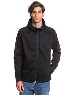 BLACK MENS CLOTHING QUIKSILVER JUMPERS - EQYFT04086-KVJ0